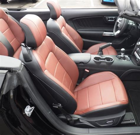 Ford Mustang Seats by Mustang Convertible Leather Seats 2015 2016 2017