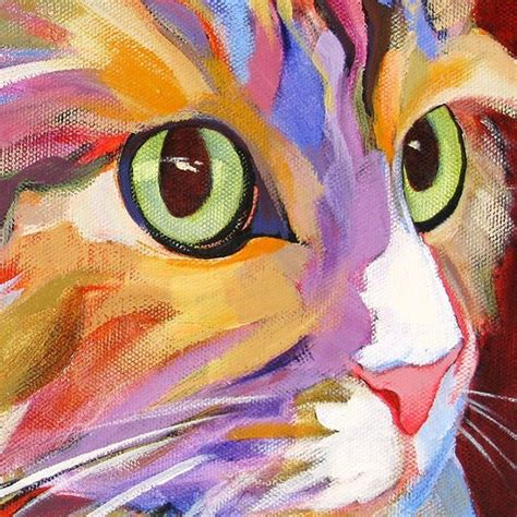 simple cat painting ideas 25 beautiful cat paintings ideas on black cat