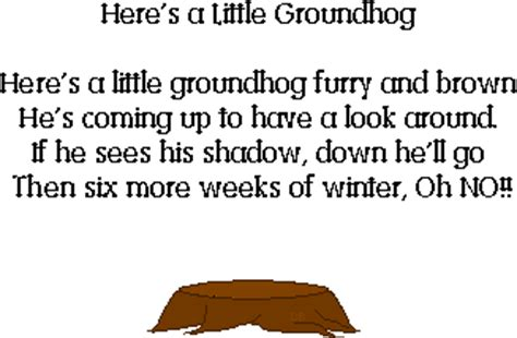 groundhog day poetry mrs jackson s class website january 2011