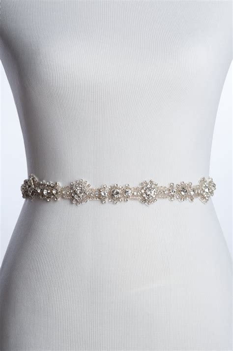 beaded bridal sash charme rhinestone sash wedding beaded belt bridal sash