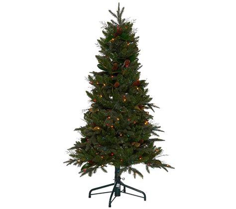 qvc bethlehem lights trees bethlehem lights 5 prelit sitka spruce tree