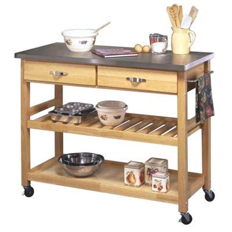 Ikea Wooden Kitchen Trolley by I Carrelli Da Cucina