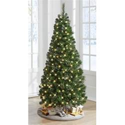 pull up tree with lights the decoratable pull up tree hammacher schlemmer