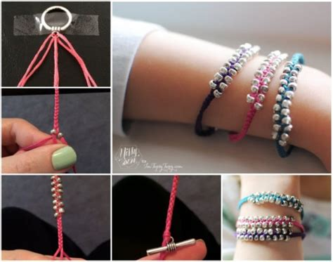 bead bracelets diy wonderful diy simple braided beaded bracelet