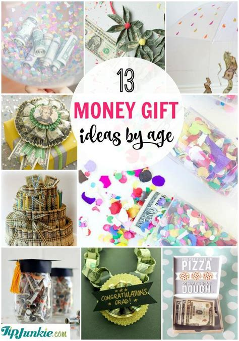 gifts by age 13 meaningful money gift ideas by age tip junkie