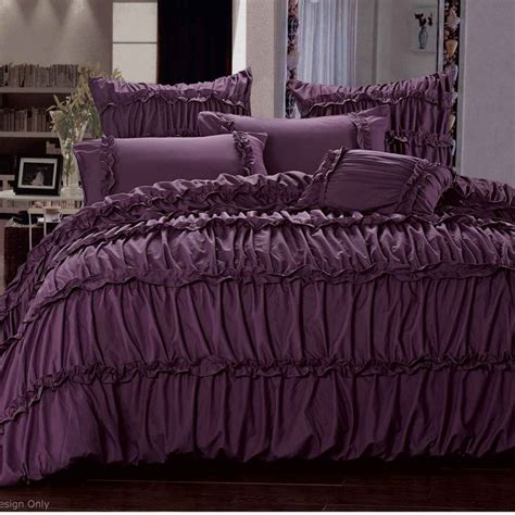 plum bedding sets 17 best ideas about purple bedding sets on