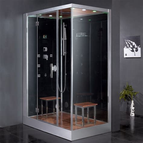 bath steam shower ariel platinum dz961f8 black left steam shower ariel bath
