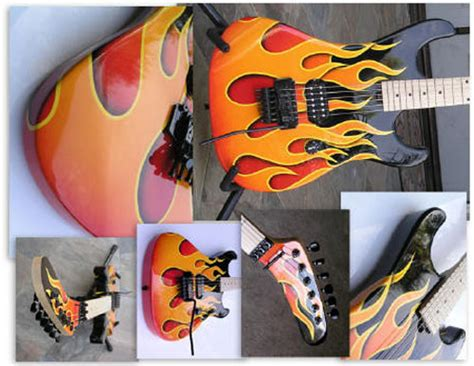 spray painting your guitar 31 custom painted violins guitars and cellos