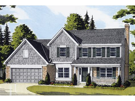 2 story colonial house plans hodelle colonial two story home plan 065d 0153 house plans and more