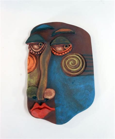 picasso paintings mask 17 best images about relief faces on ceramics