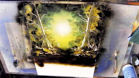 spray paint city tutorial how to spray paint tutorial forest