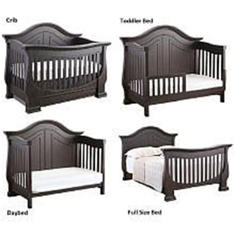 eco baby crib eco chic baby dorchester 4 in 1 convertible crib slate