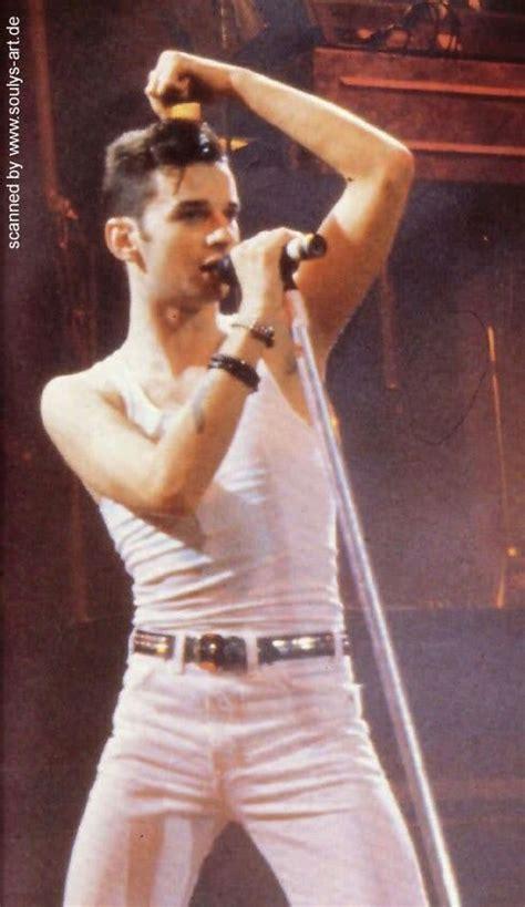 flawless young dave gahan depeche mode pinterest