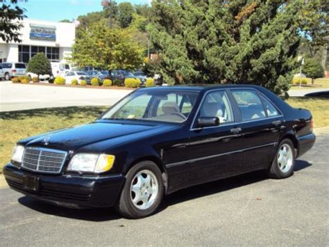 1997 Mercedes S420 by Purchase Used 1997 Mercedes S420 Looks Runs Drives