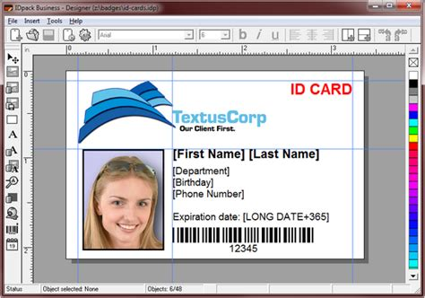 identity card software free free student id card template psd