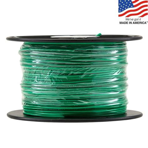 Bathroom Gift Ideas shop 500 ft 16 awg stranded green tffn wire by the roll