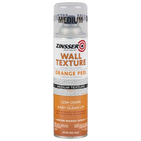 spray paint peel zinsser 20 oz wall texture medium water based orange peel