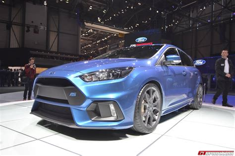 2015 Ford Focus Rs by Geneva 2015 Ford Focus Rs Gtspirit
