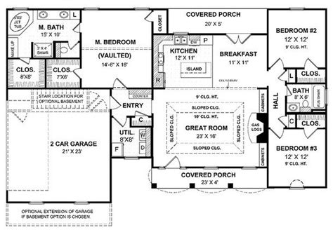 floor plans for one story homes single story open floor plans open floor plans for one