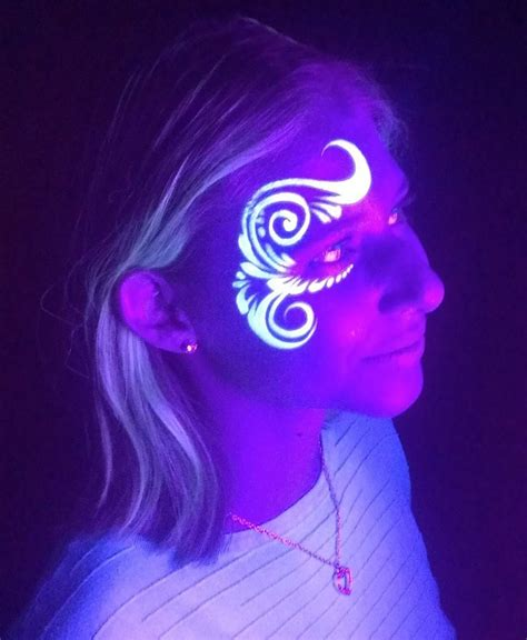 glow in the paint designs best 25 neon paint ideas on uv