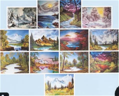 bob ross painting books for sale bob ross of painting books