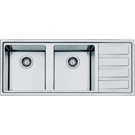 2 kitchen sink smeg ld116d 2 mira kitchen sink 2 bowls brushed stainless