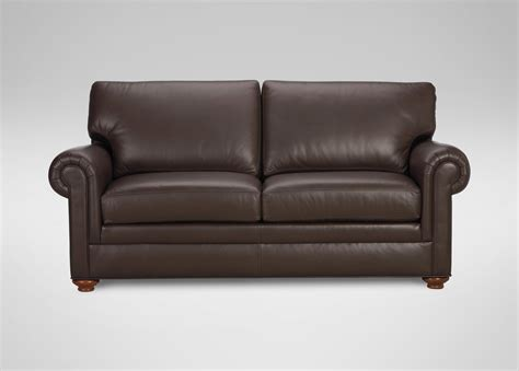 sofa couch conor leather sofa sofas loveseats