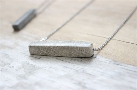 how to make concrete jewelry concrete necklace tutorial learn how to diy