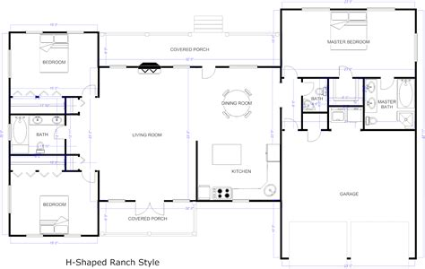 free floor plan layout template rectangular house floor plans design mid century modern