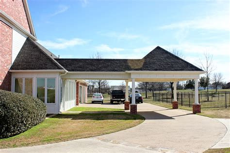 Carport Area by Covered Living Area Carport Extension Denton County