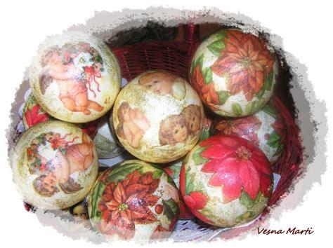 decoupage balls balls decoupage my creative works