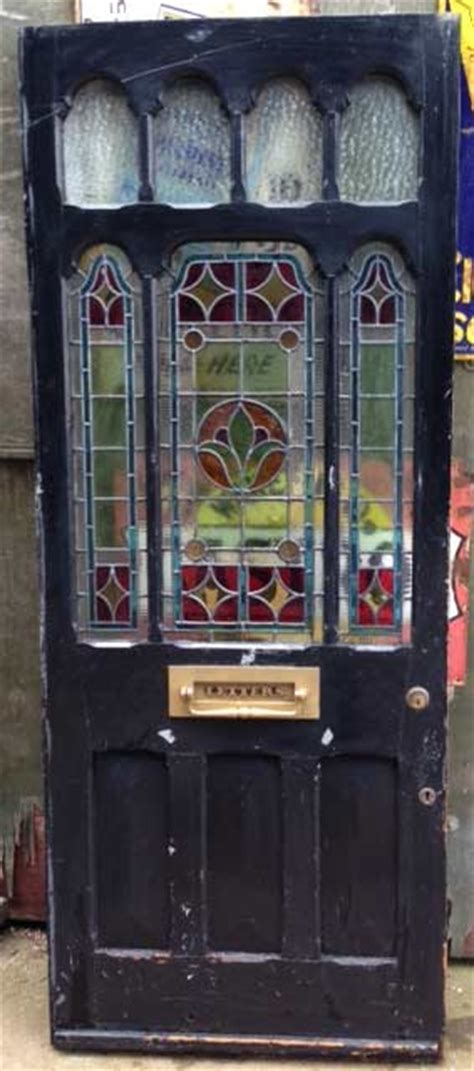stained glass for front doors restoring an door the period house guru