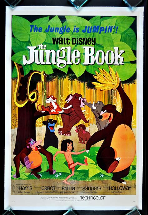 pictures from the jungle book the jungle book cinemasterpieces 1sh original