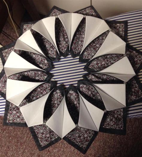 origami sewing table 17 best images about origami candle wreath on