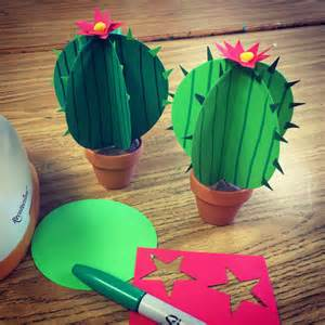 craft paper projects paper cactus projects for