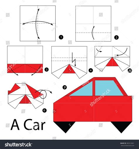 how to make a origami car step by step how to make origami a car