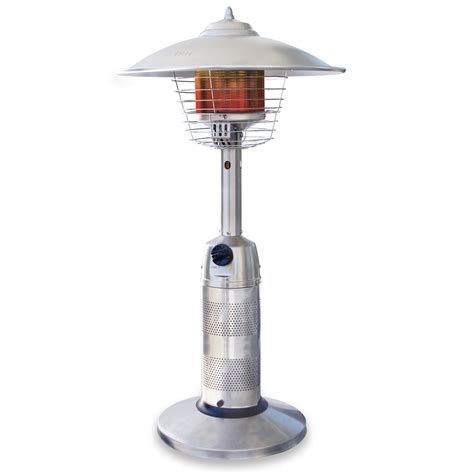propane patio heaters lowes shop endless summer 11 000 btu stainless steel liquid