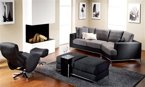 black living room chair contemporary living room chairs dominated by black color