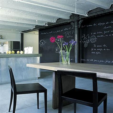 painting chalkboard on wall blackboard walls the style files