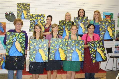 paint with a twist lone family painting with a twist