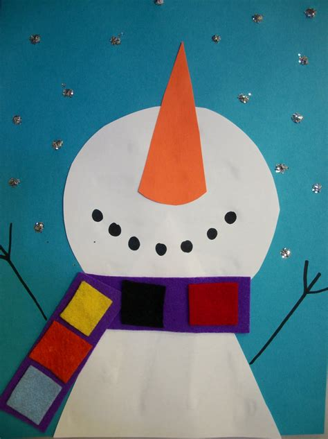 snowman craft we are you up for winter