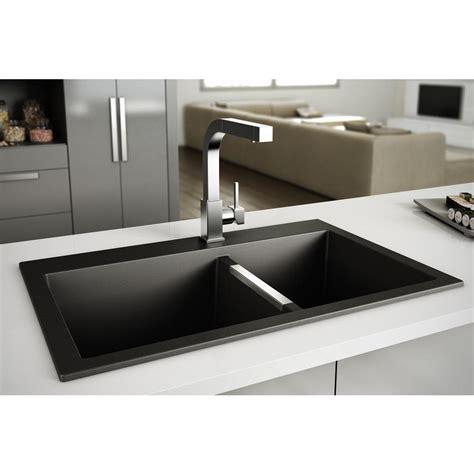 granite kitchen sink granite kitchen sink in black black kitchen cabinets