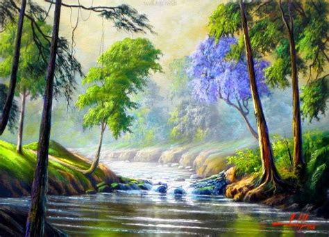 bob ross paintings with acrylics 1000 images about on acrylic paintings