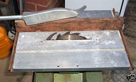 woodwork forum uk inca table saw aluminium top repair general woodworking