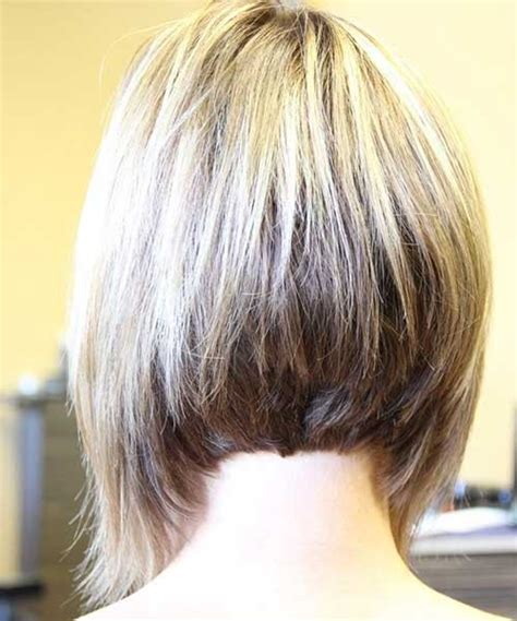 views of back of medium hairstyles 15 layered bob back view bob hairstyles 2017 short