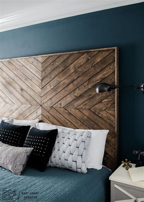 wooden king headboards best 25 diy headboard wood ideas on