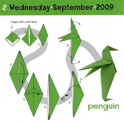 penguin origami penguin origami