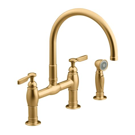 brushed bronze kitchen faucets 28 images shop kohler