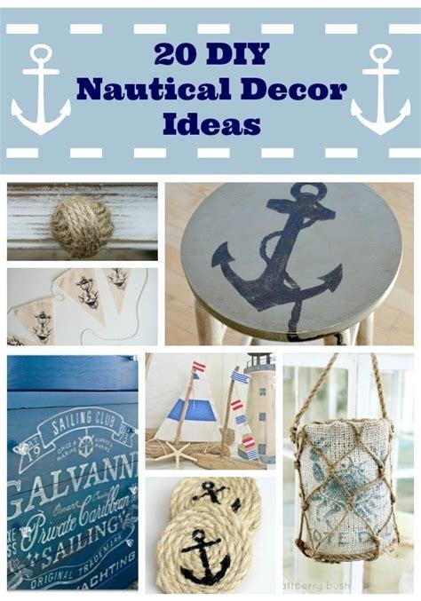nautical craft projects diy nautical decor ideas whiteaker