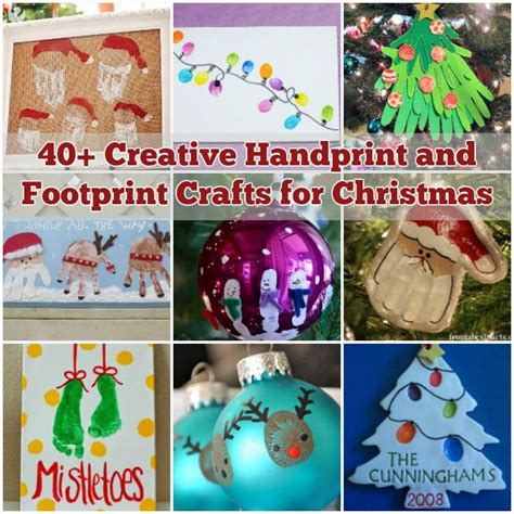 creative and craft ideas for 40 creative handprint and footprint crafts for